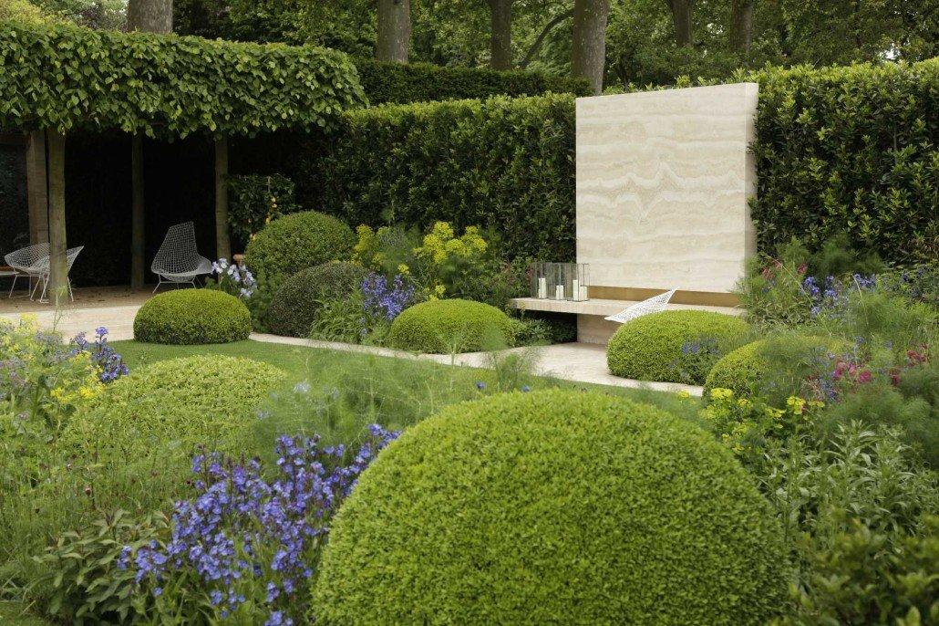 Mauern als gartenobjekt zinsser gartengestaltung for Moderner garten pflanzen