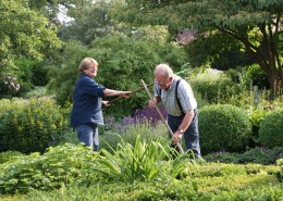 Gartenpflege macht gemeinsam mehr Spaß