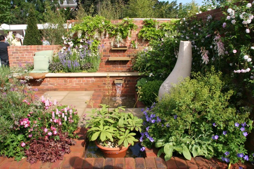... Gartengestaltung Ideen Beispiele Mit Wasserwand ...