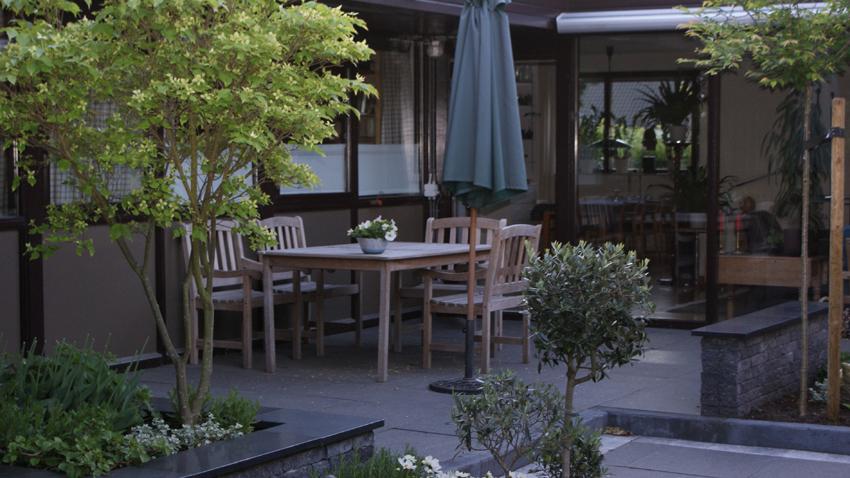 Kleine Garten Patio Atrium Zinsser Gartengestaltung