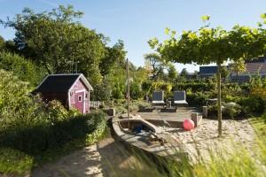 vielfältige Gärten für Familien mit Kindern