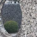 Wetterfester Cortenstahl oder Metall für Gartengestaltung