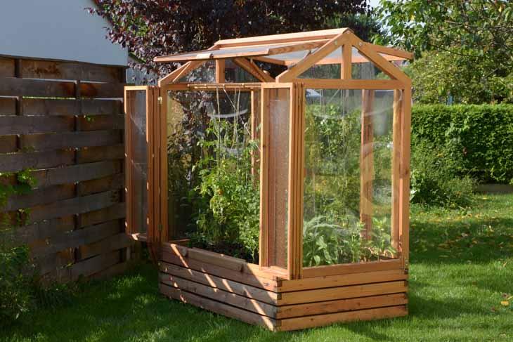 Hochbeete Kleine Gewachshauser Zinsser Gartengestaltung