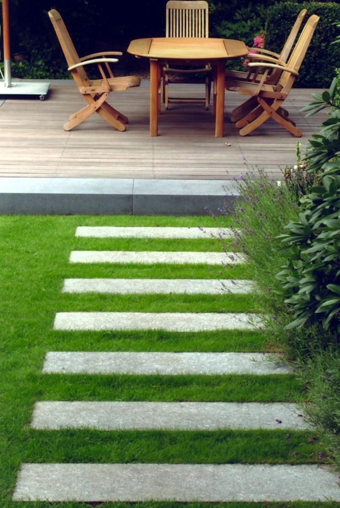Trittsteine Garten trittplatten zinsser gartengestaltung schwimmteiche und swimmingpools