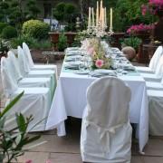 Garten-Location für Familienfeiern