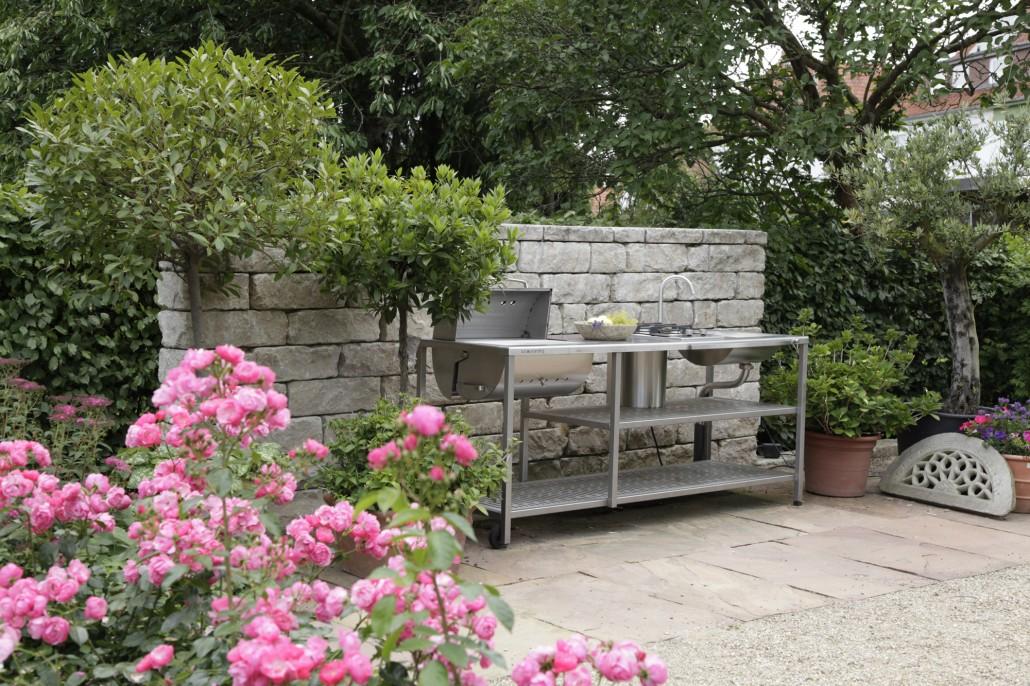 Outdoorküche Garten Edelstahl Günstig : Outdoor küche u203a zinsser gartengestaltung schwimmteiche und