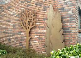 Garten und Wanddekoration für draußen