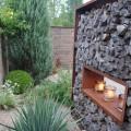 Edelstahl Objekte für den Garten