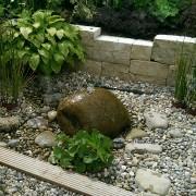 Kleiner Garten mit interessanter Gestaltung